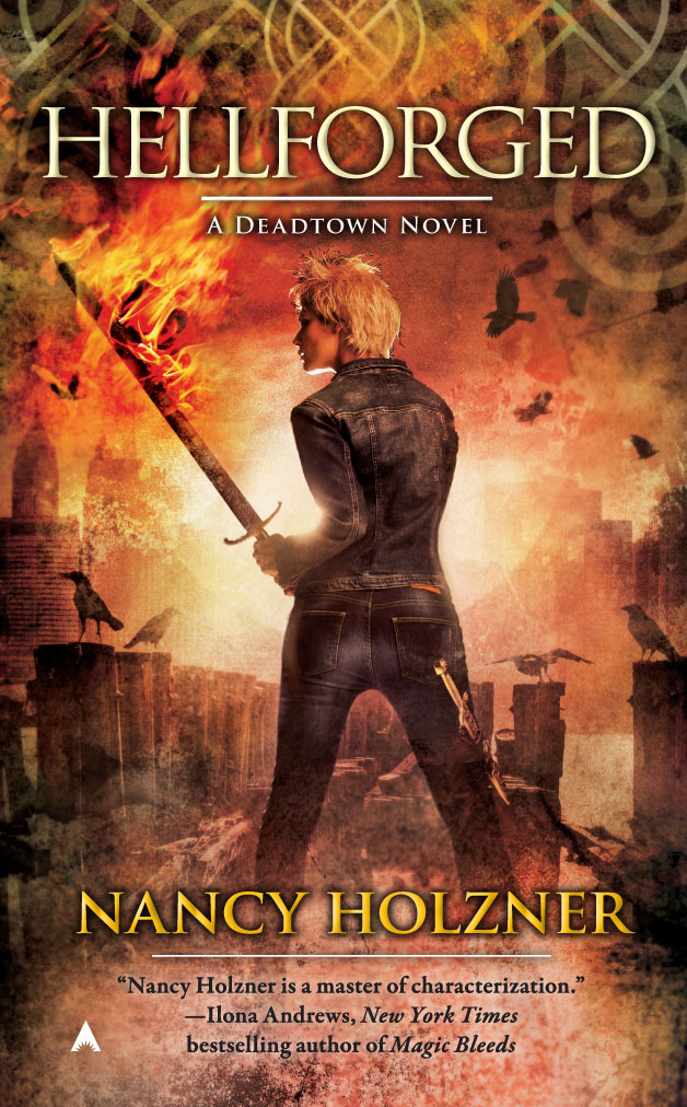 Early Review: Hellforged by Nancy Holzner